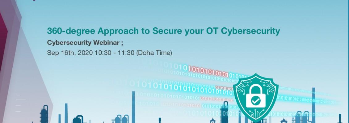 Moxa Webinar - 360-degree Approach to secure your OT Cybersecurity