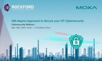 Moxa Webinar - 360-degree Approach to secure your OT Cybersecurity