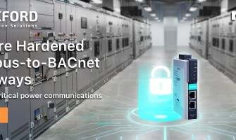 Moxa Introduces Secure Hardened Modbus-to-BACnet Gateways for Your Critical Power Communications