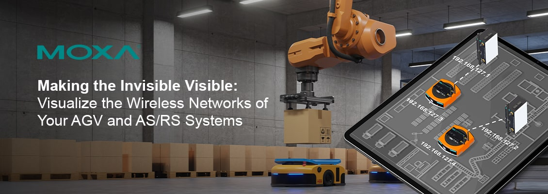 Visualize the Wireless Networks of Your AGV and AS/RS Systems