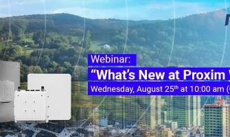 Webinar : What's New at Proxim Wireless?